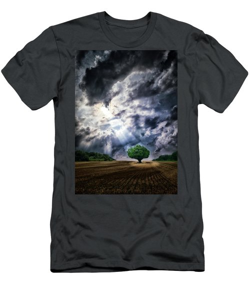 Men's T-Shirt (Slim Fit) featuring the photograph The Chosen by Mark Fuller