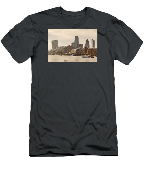 The City At Dusk Men's T-Shirt (Athletic Fit)