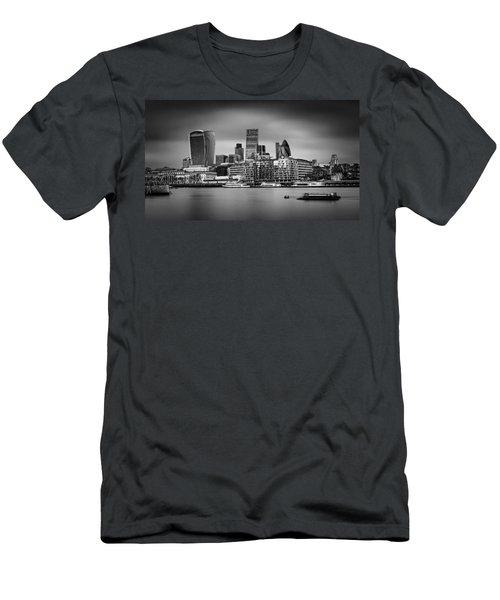 The City Of London Mono Men's T-Shirt (Athletic Fit)