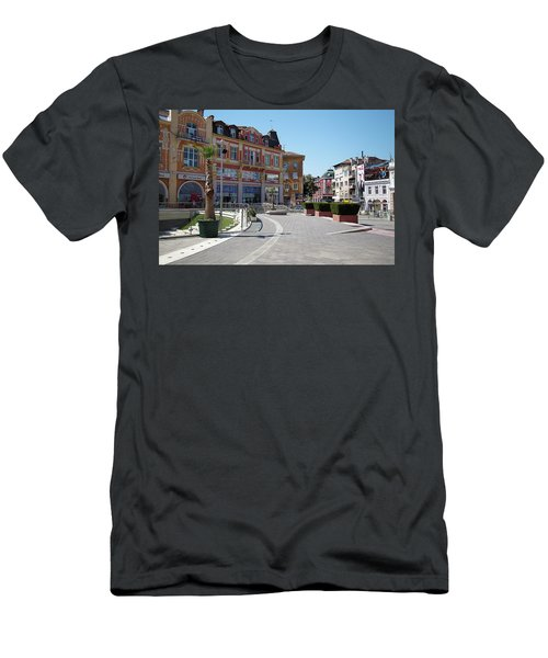 Men's T-Shirt (Athletic Fit) featuring the photograph The City Of Seven Hills by Milena Ilieva