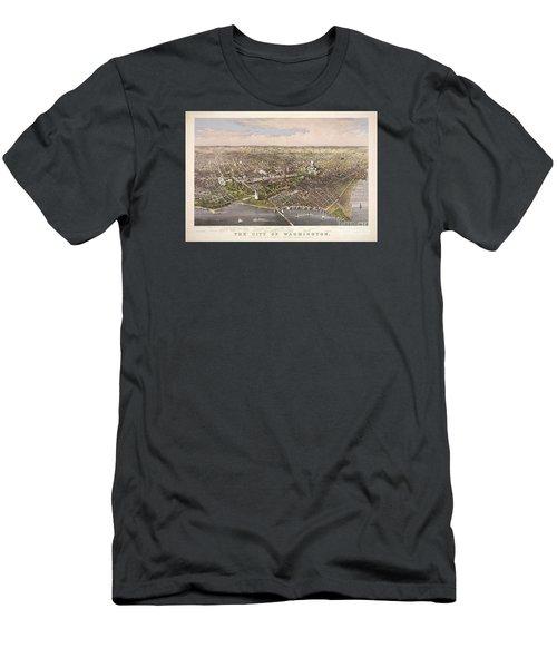 The City Of Washington Men's T-Shirt (Slim Fit)