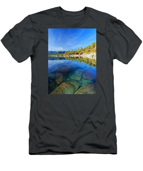 The Clarity Of Lake Tahoe Men's T-Shirt (Athletic Fit)