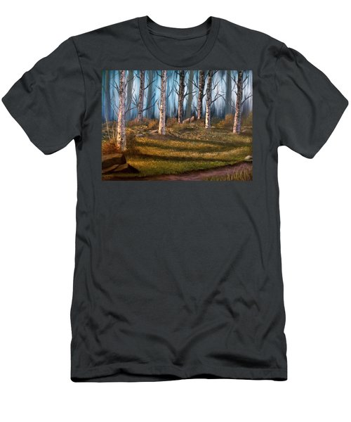 The Clearing Men's T-Shirt (Slim Fit) by Sheri Keith