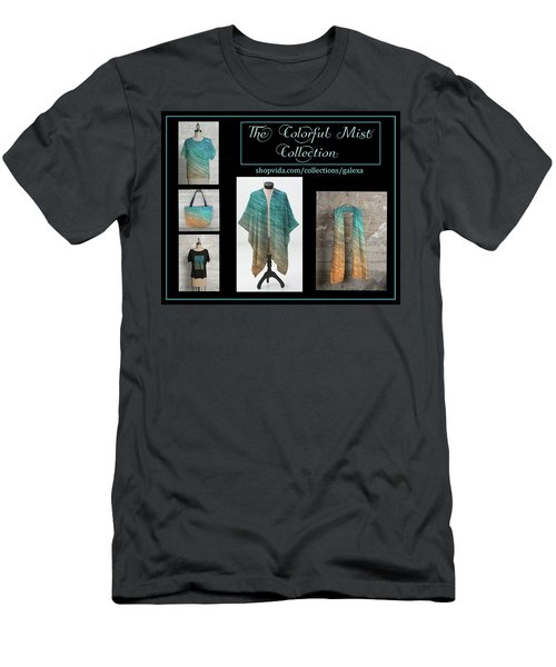 The Colorful Mist Collection Men's T-Shirt (Slim Fit) by Geraldine Alexander