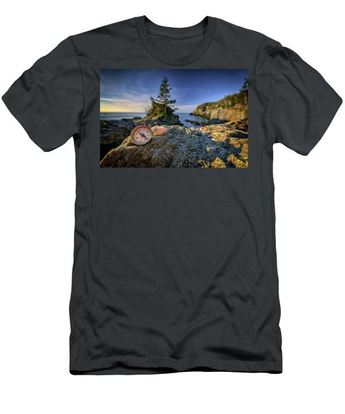 Men's T-Shirt (Athletic Fit) featuring the photograph The Compass by Rick Berk