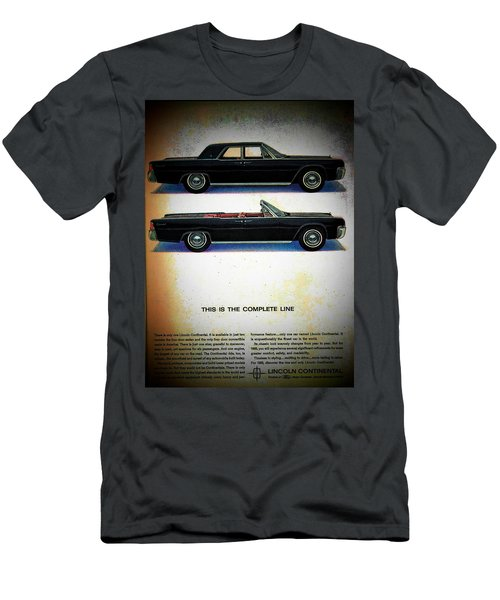 The Complete Line Men's T-Shirt (Slim Fit) by John Schneider