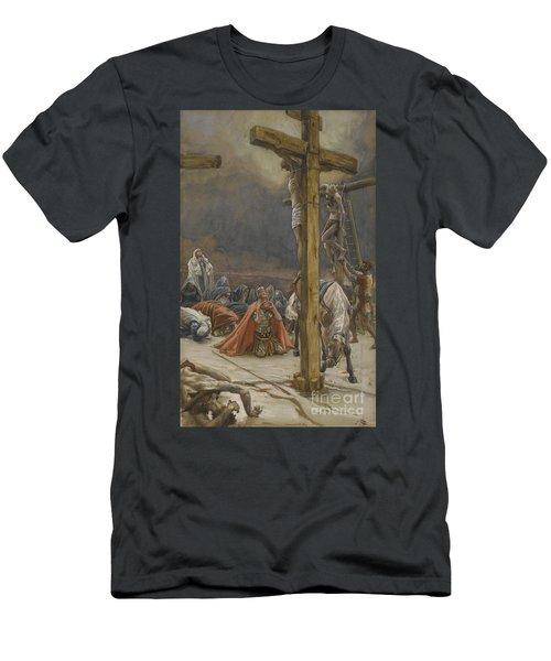 The Confession Of Saint Longinus Men's T-Shirt (Athletic Fit)