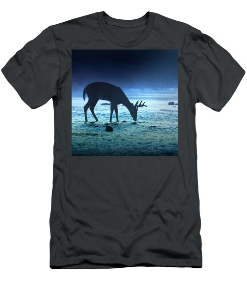 The Cool Of The Night - Square Men's T-Shirt (Slim Fit) by Rob Blair