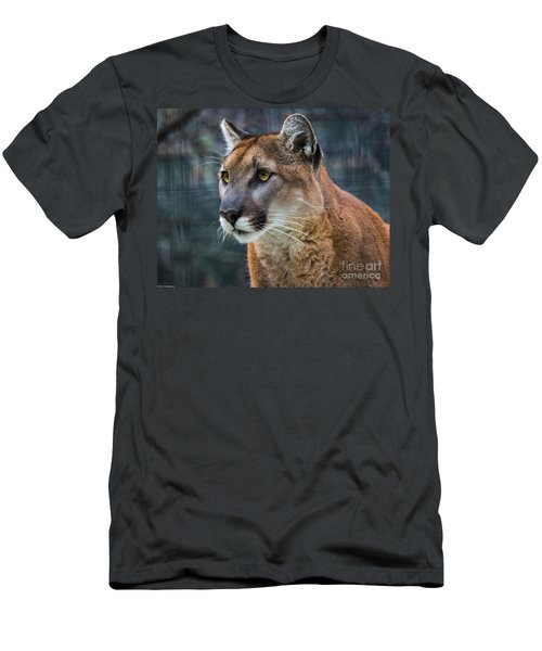 The Cougar Men's T-Shirt (Athletic Fit)