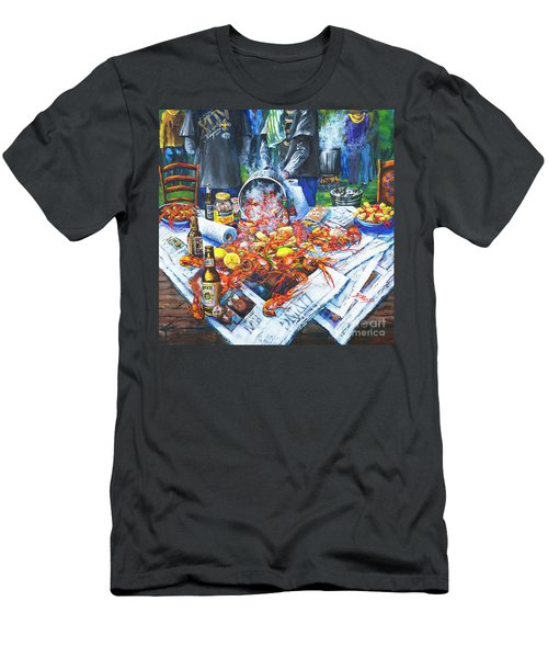 The Crawfish Boil Men's T-Shirt (Athletic Fit)