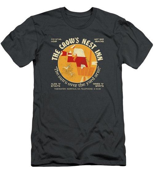 The Crow's Nest Inn Men's T-Shirt (Athletic Fit)