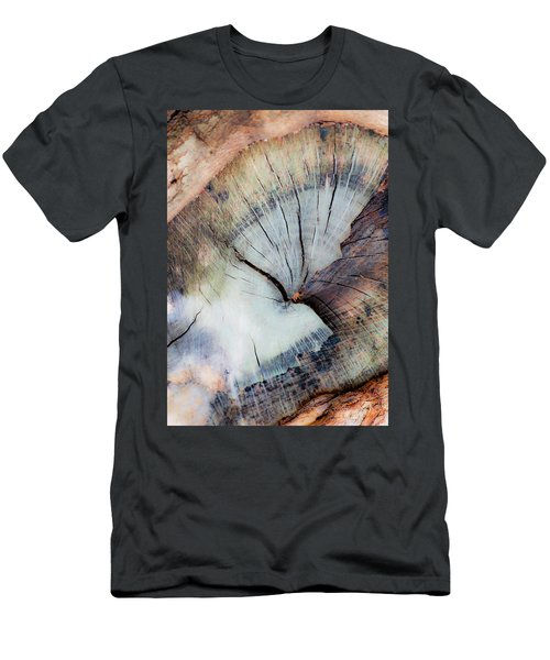 Men's T-Shirt (Slim Fit) featuring the photograph The Cut by Stephen Anderson