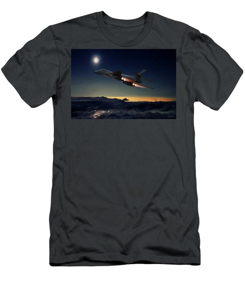 The Dark Knight Men's T-Shirt (Slim Fit) by Peter Chilelli