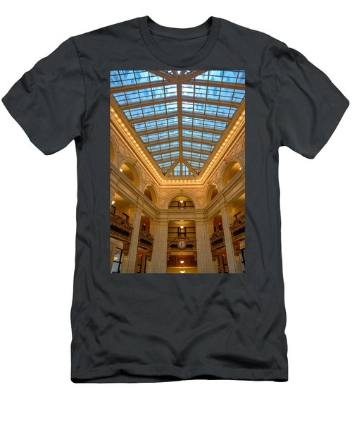 The David Whitney Building Men's T-Shirt (Athletic Fit)