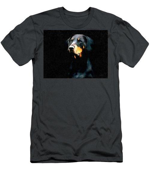 The Doberman Pinscher Men's T-Shirt (Athletic Fit)