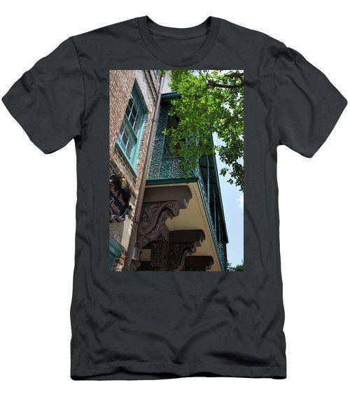 The Dock Men's T-Shirt (Slim Fit) by Ed Waldrop