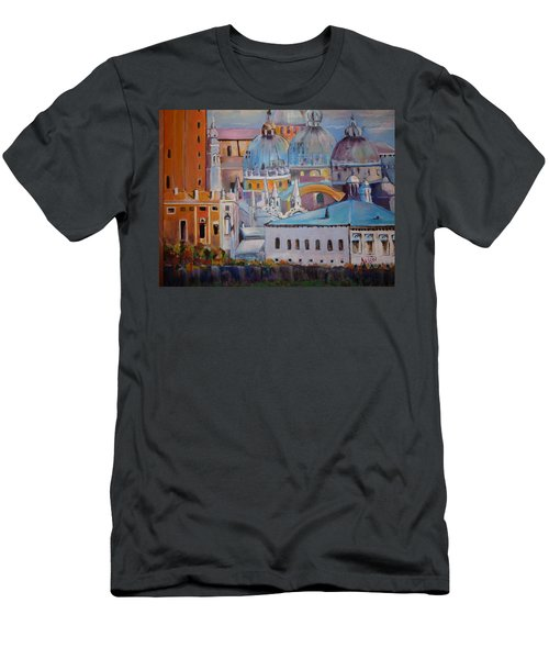 The Domes In Italy Men's T-Shirt (Athletic Fit)