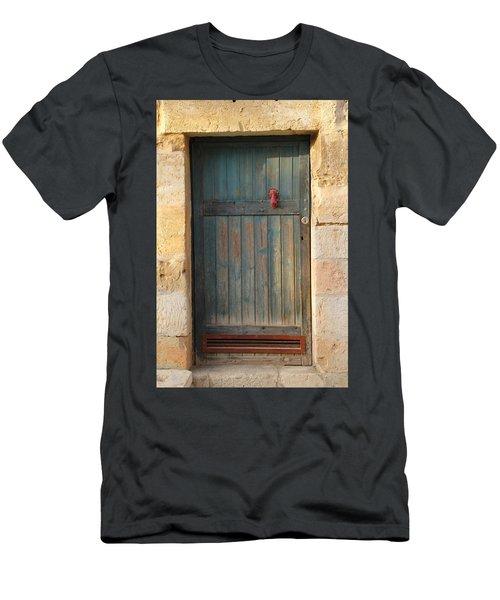 The Door And The Hand Men's T-Shirt (Slim Fit) by Yoel Koskas