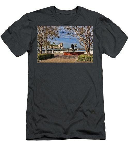 The Downtown Bradenton Waterfront Men's T-Shirt (Athletic Fit)