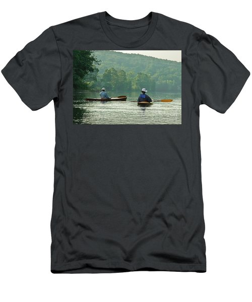 Men's T-Shirt (Slim Fit) featuring the photograph The Dreamers by Tom Cameron