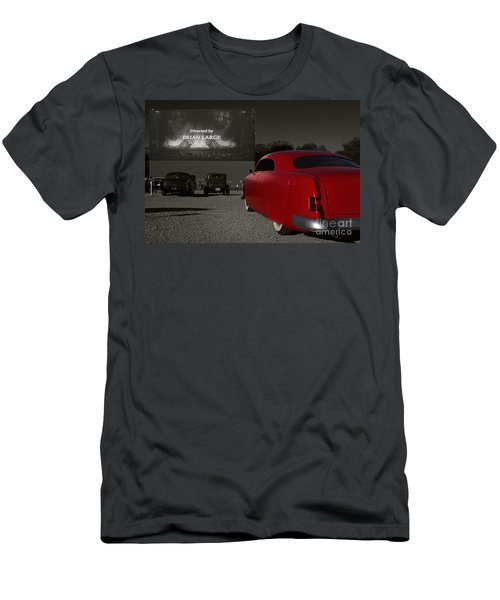 The Drive-in Men's T-Shirt (Slim Fit) by Dennis Hedberg