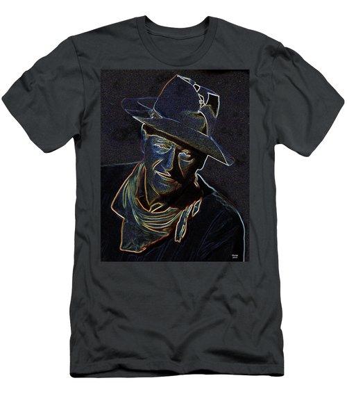 The Duke Men's T-Shirt (Slim Fit) by Charles Shoup