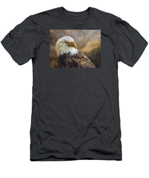 The Eagle's Stare Men's T-Shirt (Slim Fit) by Brian Tarr