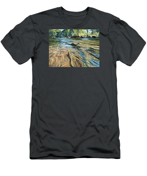 The East Dart River Dartmoor Men's T-Shirt (Athletic Fit)