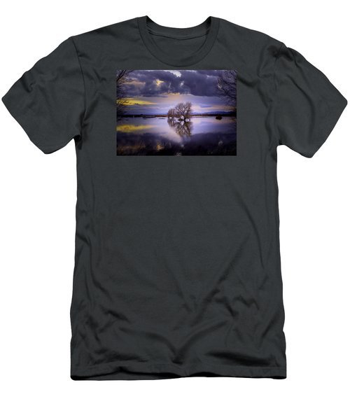 The Edge Of Sunset Men's T-Shirt (Athletic Fit)
