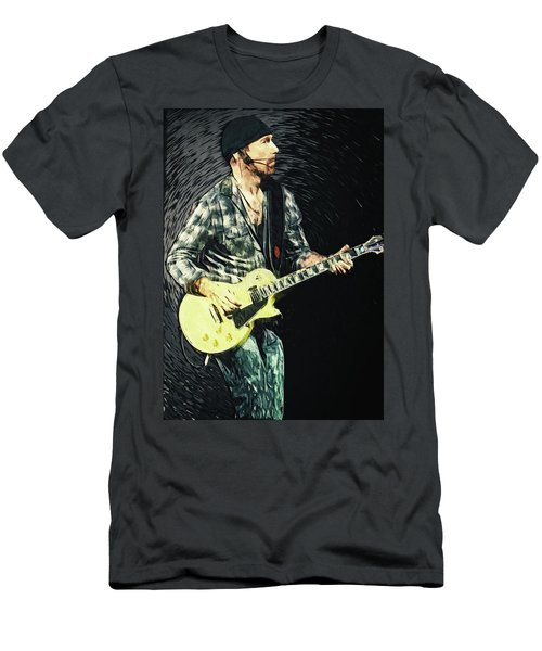 The Edge Men's T-Shirt (Slim Fit) by Taylan Apukovska