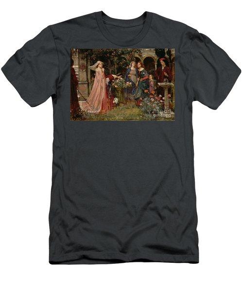 The Enchanted Garden Men's T-Shirt (Athletic Fit)