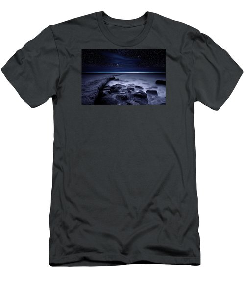 The End Of Darkness Men's T-Shirt (Athletic Fit)