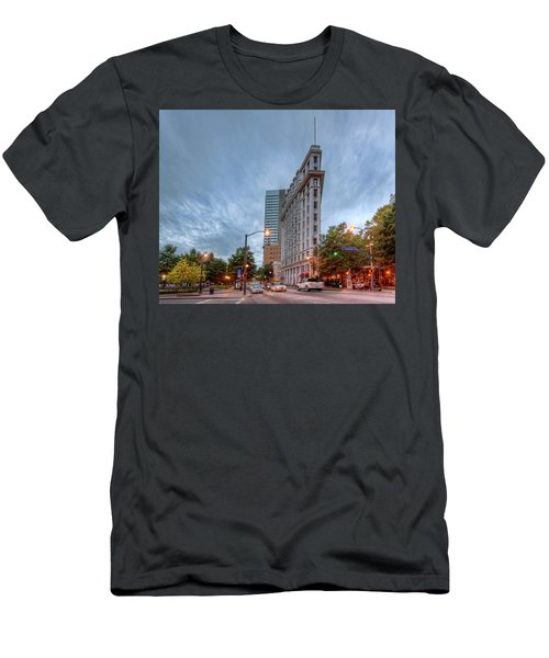The English--american Building. Atlanta Men's T-Shirt (Athletic Fit)