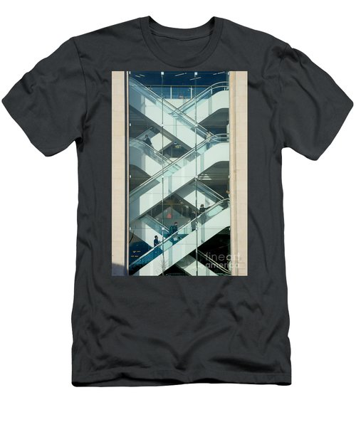 The Escalators Men's T-Shirt (Slim Fit) by Colin Rayner