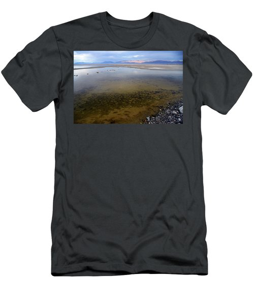 The Evaporating Water Of The Great Salt Lake 1 Men's T-Shirt (Athletic Fit)