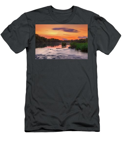 The Eve On The River Men's T-Shirt (Athletic Fit)