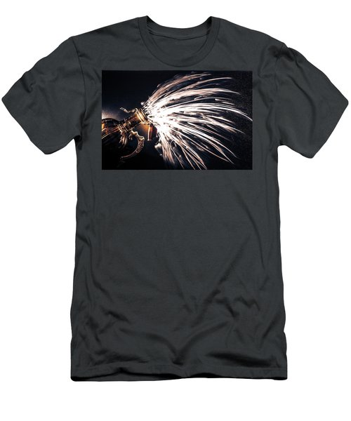 The Exploding Growler Men's T-Shirt (Athletic Fit)