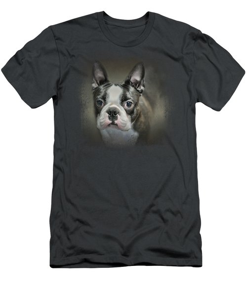 The Face Of The Boston Men's T-Shirt (Slim Fit) by Jai Johnson