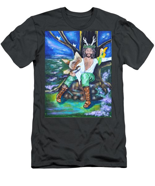 The Faery King Men's T-Shirt (Athletic Fit)