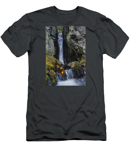 The Fall Of Song In Autumn Men's T-Shirt (Athletic Fit)
