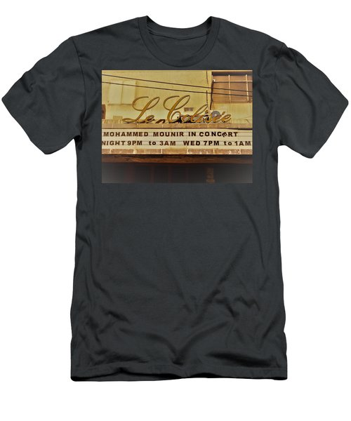 The Famous Le Colisee Cinema In Beirut Men's T-Shirt (Slim Fit) by Funkpix Photo Hunter