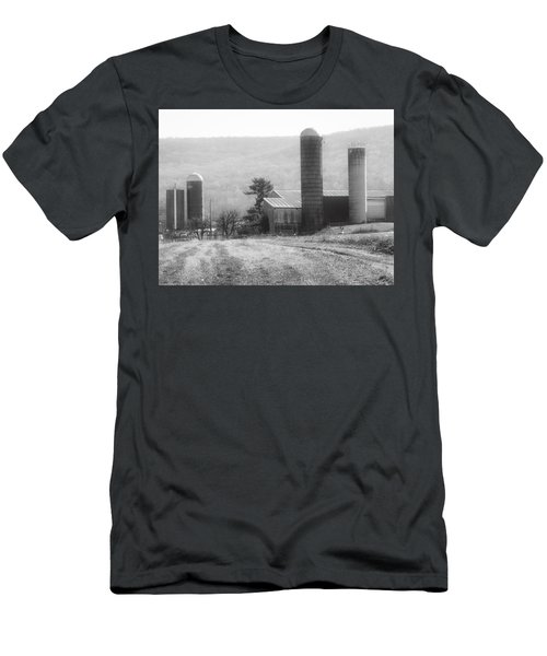 The Farm-after Harvest Men's T-Shirt (Slim Fit) by Robin Regan