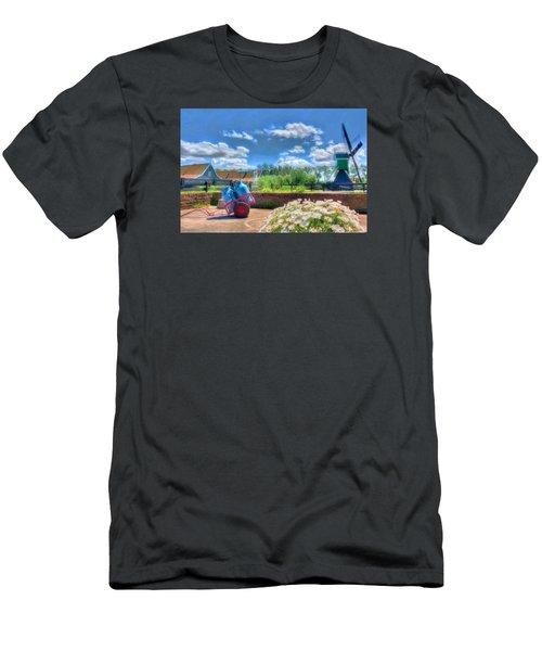 The Farm Men's T-Shirt (Slim Fit) by Nadia Sanowar