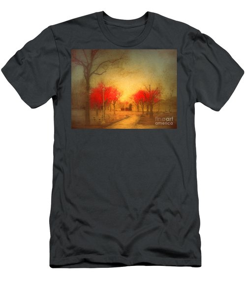 The Fire Trees Men's T-Shirt (Athletic Fit)