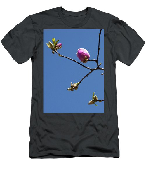 The First To Bloom Men's T-Shirt (Athletic Fit)