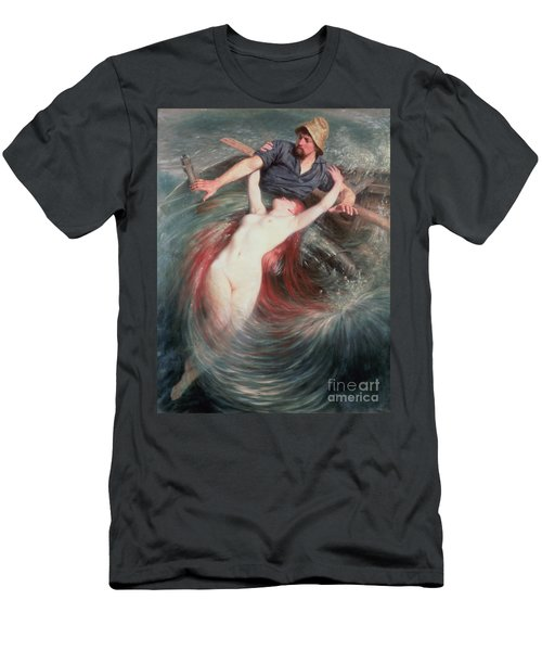 The Fisherman And The Siren Men's T-Shirt (Athletic Fit)
