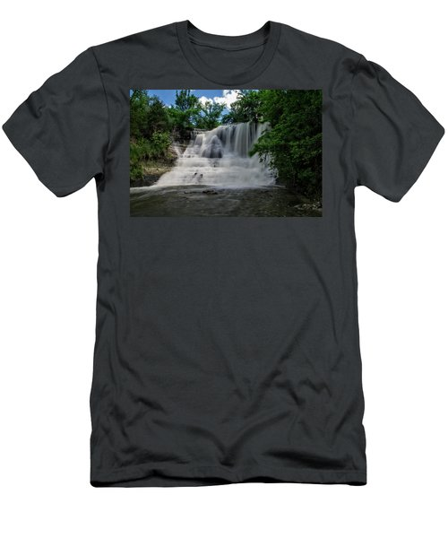 The Flowing Falls Men's T-Shirt (Athletic Fit)