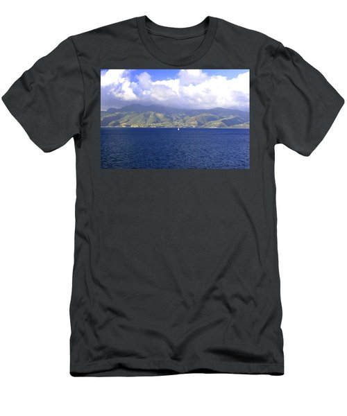 The Fog Lifts Men's T-Shirt (Athletic Fit)