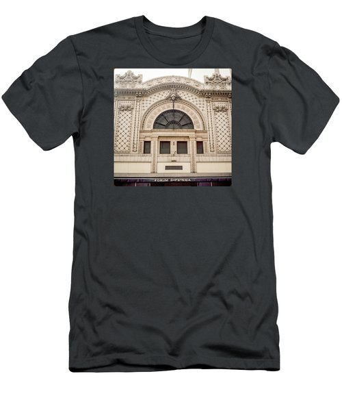 The Forum Cafeteria Facade Men's T-Shirt (Athletic Fit)