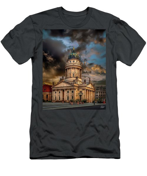 The French Church 3 Men's T-Shirt (Athletic Fit)